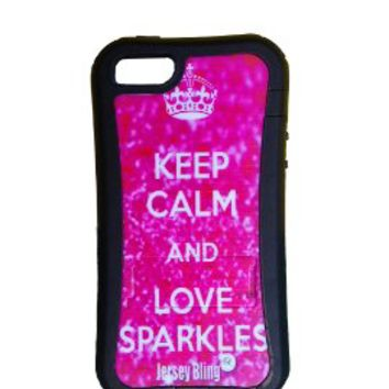 Jersey bling keep calm pink zebra from amazon bling for Sparkles jewelry lakewood nj instagram