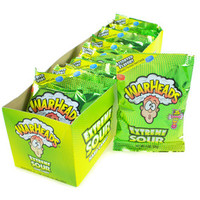 WarHeads Extreme Sour Candy 1-Ounce Packs: 12-Piece Box | CandyWarehouse.com Online Candy Store