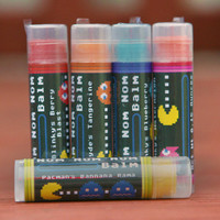 Nom Nom Nom Balm Set (Packman Themed Lip Balm Set)