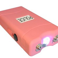 POLICE 12.000.000 V Stun Gun VC w/ Flashlight (Pink):Amazon:Sports & Outdoors