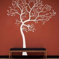 Vinyl Wall Art Decal  Spring Tree Decal by WowWall on Etsy