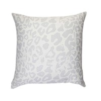 Snow Leopard Decorative Pillow Cover