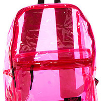 MKL Accessories Backpack Plastics in Pink