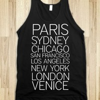 WORLD CITIES TANK TOP