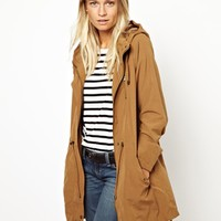 Oasis Light Weight Parka at asos.com