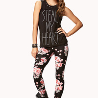 Wild Rose Leggings