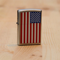 American Flag Zippo Lighter - Cool Material