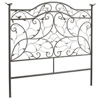 Perched Bird Queen Headboard