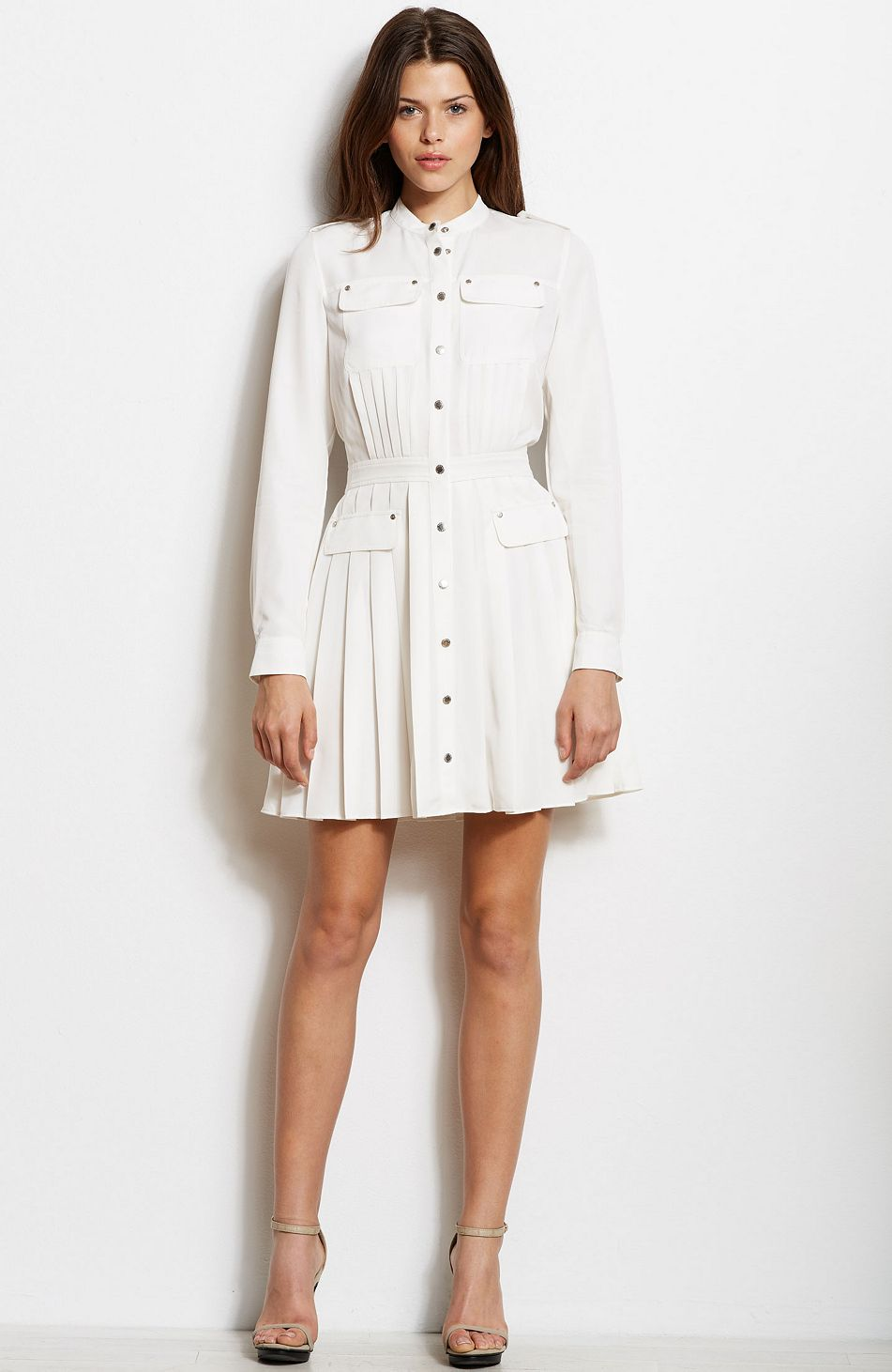 Galerry flared shirt dress