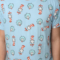 Urban Outfitters - Cat In The Hat Allover Tee