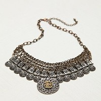 Free People Moss Mesh Link Collar