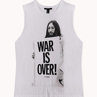 War Is Over Muscle Tee | FOREVER 21 - 2000051587