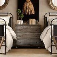French Academie Twin Iron Bed | Restoration Hardware