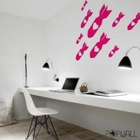 Love Bomb  Pop Wall Sticker Graphic  055 by NouWall on Etsy