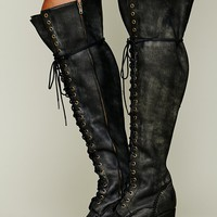 Free People James Lace Up Boot