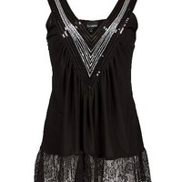 Daytrip Sequin V-Neck Tank Top - 's | Buckle