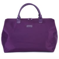 "Lipault 18"" Weekend Tote-Purple - See Jane Work"