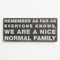 Primitives by Kathy 'Normal Family' Box Sign | Nordstrom