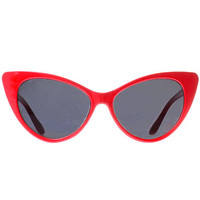Susie Q Sunglasses in Cherry