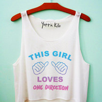 This Girl Loves 1D Tank Top
