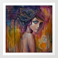 Abstraction Art Print by Mandy Tsung