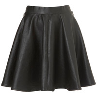 Black Full Skater Skirt - Style Steals - Sale & Offers - Topshop USA