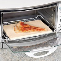Toaster Oven Pizza Stone @ Harriet Carter