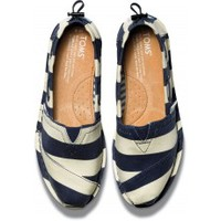 Bold Stripe Denim Women's Bimini Stitchouts