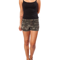 Bottoms / Shorts / Army Jean Shorts - Ocd Clothes Co.