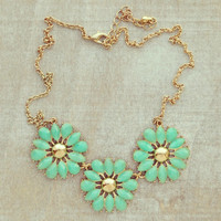 Pree Brulee - Mint Corinthia Necklace