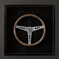 Framed Sportster Steering Wheels - Leather