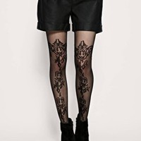 ASOS Lace Over The knee &amp; Sheer Tights