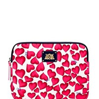 Darling Hearts Ipad Zip Around Case