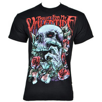 Bullet for My Valentine Skull Red Eyes t shirt, BFMV, band t shirts UK