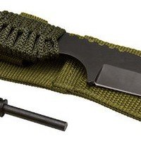 Survivor HK-106320 Outdoor Fixed Blade Knife 7 Overall WITH FIRE STARTER:Amazon:Sports & Outdoors
