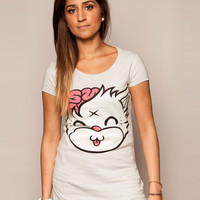 Mascot Kitty Grey T-shirt