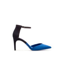 TWO - TONE POINTED ANKLE STRAP SHOE - Woman - New this week | ZARA United States