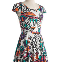 Elaborate Expression Dress | Mod Retro Vintage Dresses | ModCloth.com