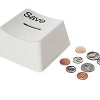SAVE KEY BANK | Computer Keyboard Coin Bank, A Gift For Guys, Kids, And Stylish Nerds | UncommonGoods