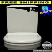 TOILET MONSTER Decal Bathroom Wall Art Funny Cute Vinyl Sticker:Amazon:Home Improvement
