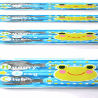 Cute Cutlery Set For Bento Lunches Frog Fork Spoon Chopsticks