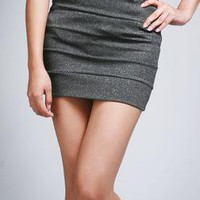 Lurex Dot Mini Skirt - Skirts - BOTTOMS A'GACI