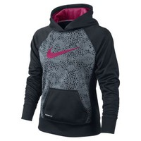 Nike Store. Nike Printed Pullover Girls' Training Hoodie
