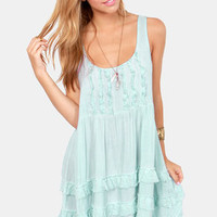 Black Swan Origin Light Blue Tank Dress