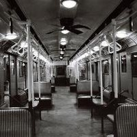 Old New York Subway Car No 2 11 x 14 Original Signed by taraville