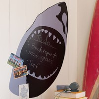 Chalkboard Shark Decal