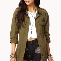 Buckled Utility Jacket