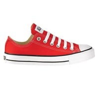 Converse All Star Lo Athletic Shoe, Red | Journeys Shoes
