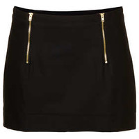 Textured Pelmet Skirt - Skirts  - Clothing