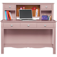 Gabriella Lavender Bloom Desk and Hutch